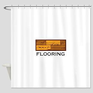 Flooring Shower Curtain