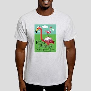 Pink Plastic Flamingo Light T-Shirt