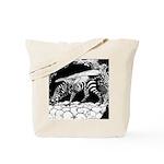 Tiger-headed <br>Zebragryph<br> Tote Bag