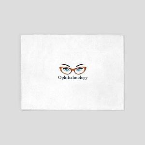 Ophthalmology 5'x7'Area Rug