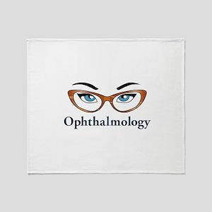 Ophthalmology Throw Blanket