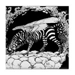 Tiger-headed <br>Zebragryph<br> Tile Coaster