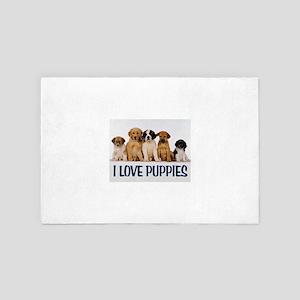 PUPPY LOVE 4' x 6' Rug