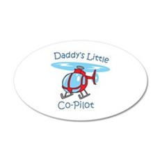 Daddys Co-Pilot Wall Decal