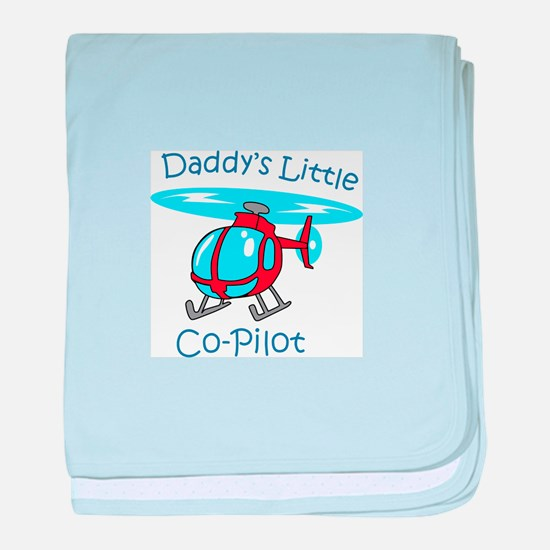 Daddys Co-Pilot baby blanket