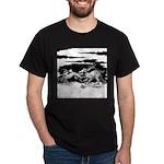 Saluki and Dragon<br> Dark T-Shirt