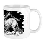 Saluki and Dragon<br> Mug