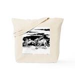 Saluki and Dragon<br> Tote Bag