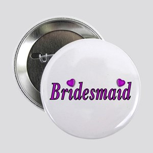 """Bridesmaid Simply Love 2.25"""" Button (10 pack)"""