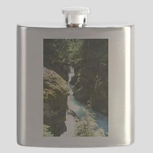 Glacier Waterfall Flask