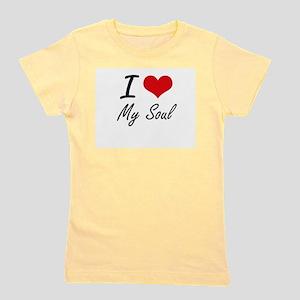 I love My Soul Girl's Tee