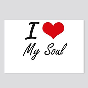 I love My Soul Postcards (Package of 8)
