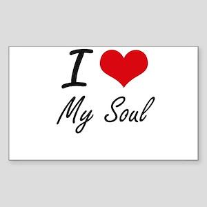 I love My Soul Sticker