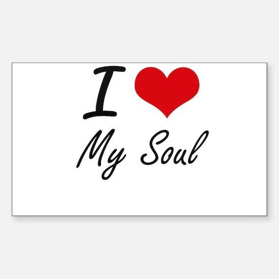 I love My Soul Decal