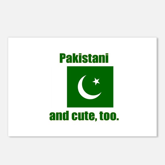 Cute Pakistani Postcards (Package of 8)