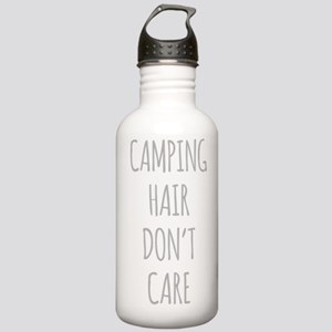 Camping Hair Dont Care Sports Water Bottle