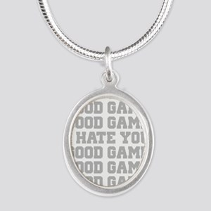 Good Game I Hate You Sports Necklaces