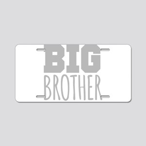 Big Brother Aluminum License Plate