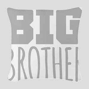 Big Brother Woven Throw Pillow