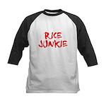 Rice Junkie Kids Baseball Jersey