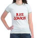 Rice Junkie Jr. Ringer T-Shirt