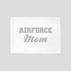 Airforce Mom 5'x7'Area Rug