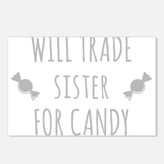 Will Trade Sister For Candy Postcards (Package of
