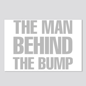 The Man Behind The Bump Postcards (Package of 8)