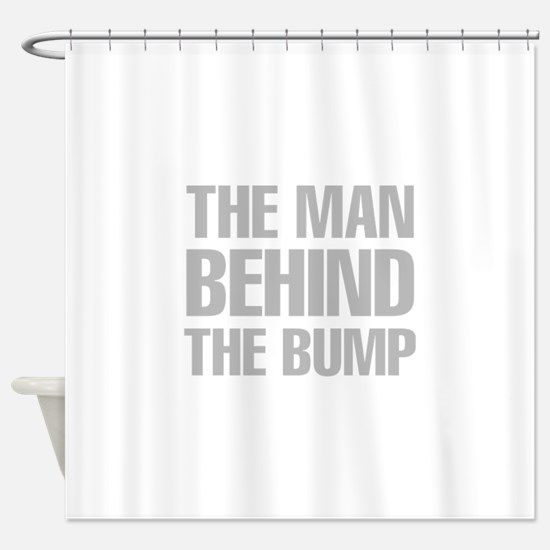 The Man Behind The Bump Shower Curtain