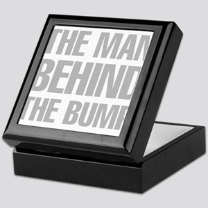 The Man Behind The Bump Keepsake Box