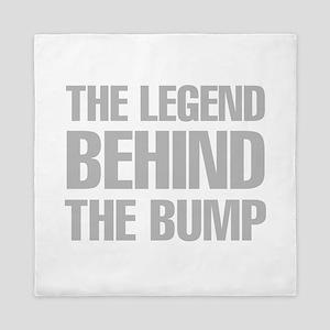 The Legend Behind The Bump Queen Duvet
