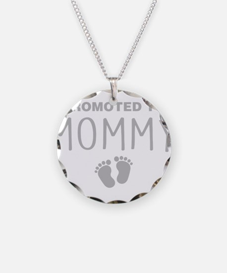 Promoted To Mommy Necklace