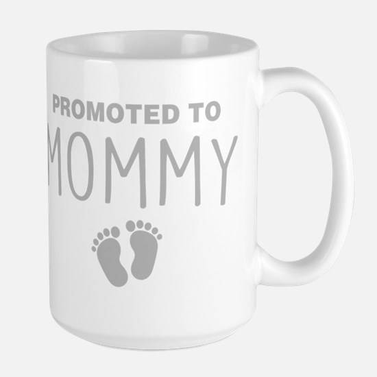 Promoted To Mommy Mugs