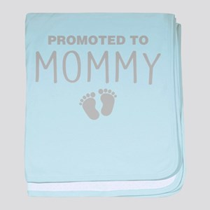 Promoted To Mommy baby blanket