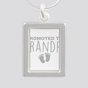 Promoted To Grandpa Necklaces