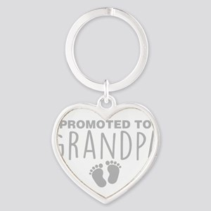Promoted To Grandpa Keychains