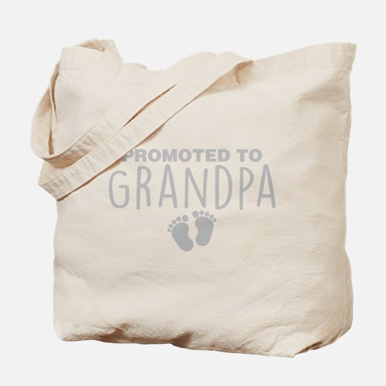 Promoted To Grandpa Tote Bag