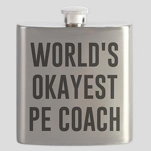 World's Okayest PE Coach Flask