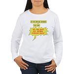 Mr. Hodgkin Women's Long Sleeve T-Shirt