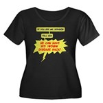 Mr. Hodgkin Women's Plus Size Scoop Dark T-Shirt