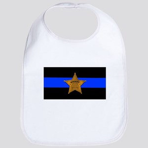 Sheriff Thin Blue Line Bib