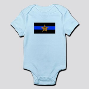 Sheriff Thin Blue Line Body Suit