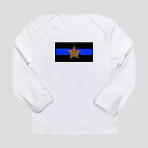 Sheriff Thin Blue Line Long Sleeve T-Shirt