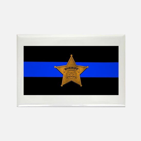 Sheriff Thin Blue Line Magnets