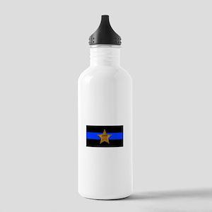 Sheriff Thin Blue Line Water Bottle