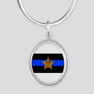 Sheriff Thin Blue Line Necklaces