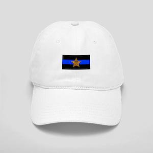 302337831ed Sheriff Thin Blue Line Baseball Cap