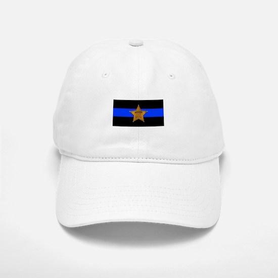 Sheriff Thin Blue Line Baseball Baseball Baseball Cap