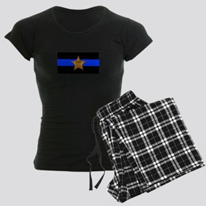Sheriff Thin Blue Line Pajamas