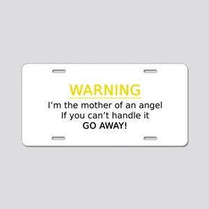 Aluminum License Plate Angel Mommy
